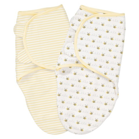 SwaddleMe® 2-pack-Beelining (Small-Medium)