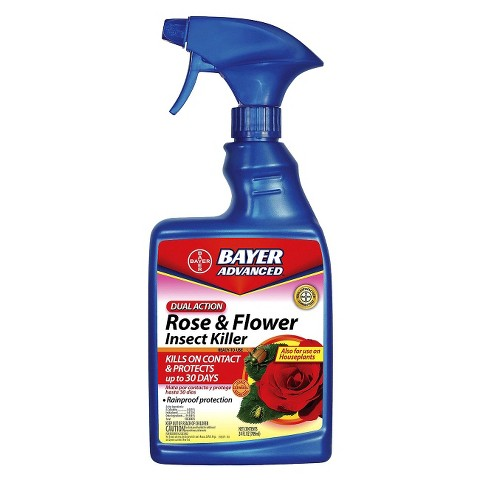 Bayer® Advanced Dual Action Rose & Flower Insect Control 24oz Ready to Use