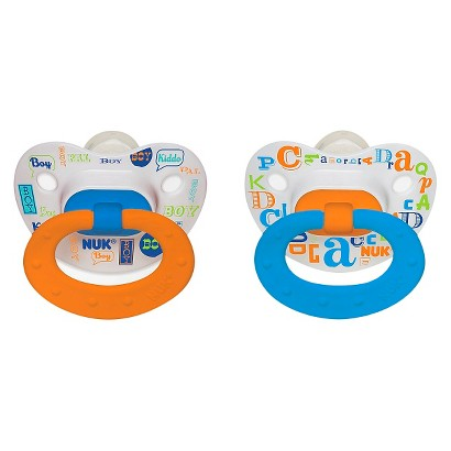 NUK Babytalk Orthodontic  Pacifier 0-6 Months (2 Pack)