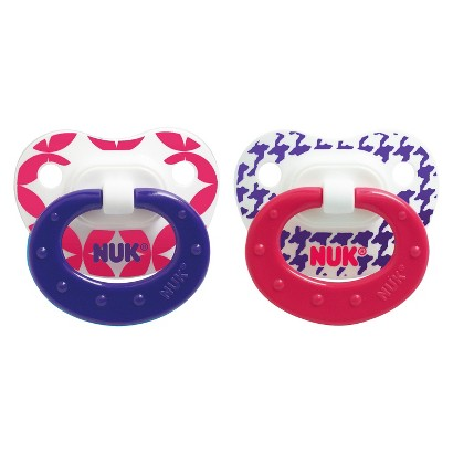 NUK Babytalk Orthodontic  Pacifier 6-18 Months (2 Pack)