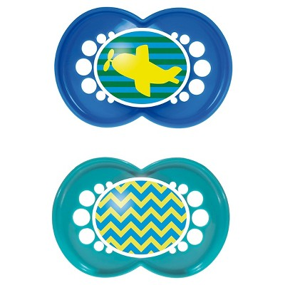 MAM Trends Orthodontic Pacifier, 6+ Months, 2-Count