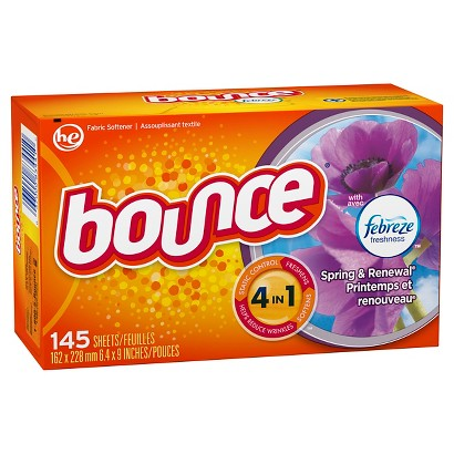 Bounce® Febreze™ Spring & Renewal® Dryer Sheets - 145 Count