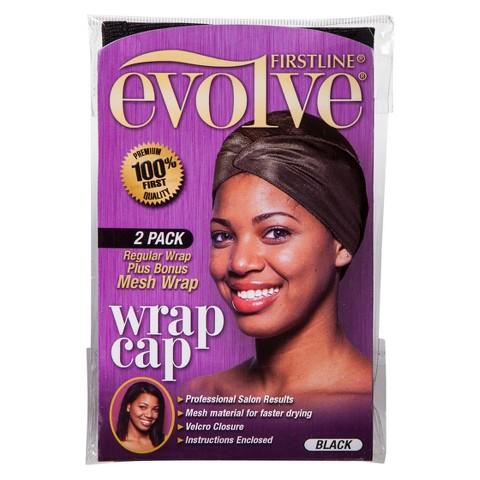 Firstline® Evolve® Mesh Wrap Cap - Black