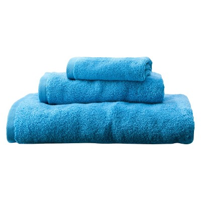 Room Essentials™ Fast Dry 3-pc. Towel Set - Dark Sky Blue