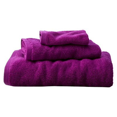 Room Essentials™ Fast Dry 3-pc. Towel Set - Berry