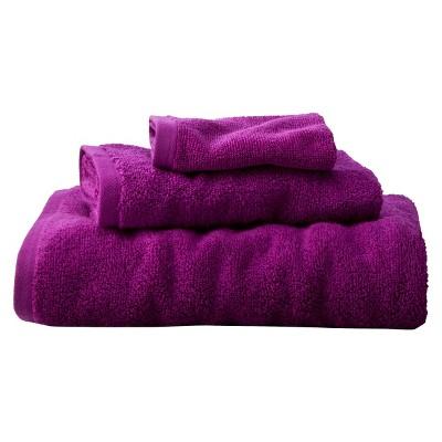 Room Essentials™ Fast Dry 3-pc. Towel Set - Berry
