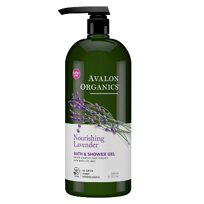 Avalon  Lavender Bath & Shower Gel- 32oz