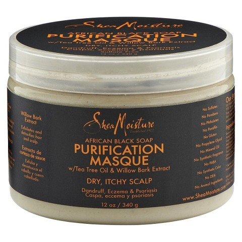 SheaMoisture African Black Soap Purification Masque - 12 oz