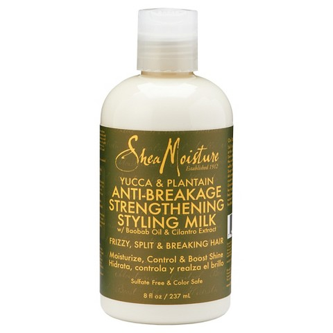 SheaMoisture Yucca & Plantain Anti-Breakage Strengthening Styling Milk – 8oz