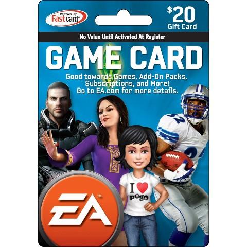 EA Universal $20 Cash Card