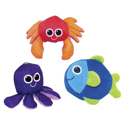 Sassy Soft Swimmers Baby Bath Toys