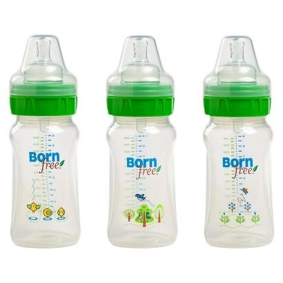 Born Free 9 oz Deco Bottle 3pk