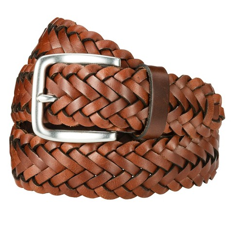 Men's Small Braid Belt - Brown Merona™