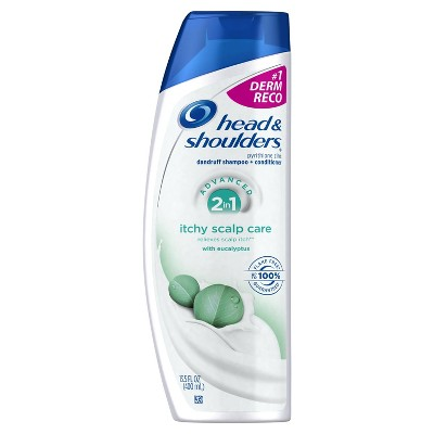 Head & Shoulders® Itchy Scalp Care 2-in-1 Dandruff Shampoo + Conditioner with Eucalyptus 13.5 Fl Oz