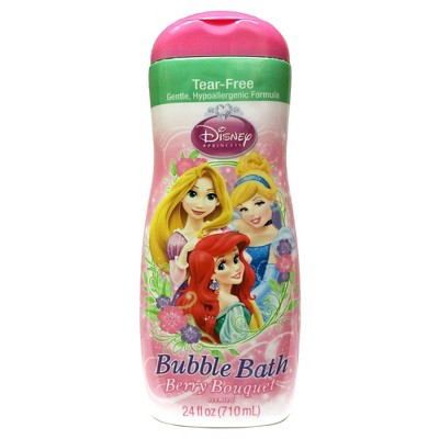 Disney Princess Tear Free Berry Bliss Bubble Bath - 24 oz