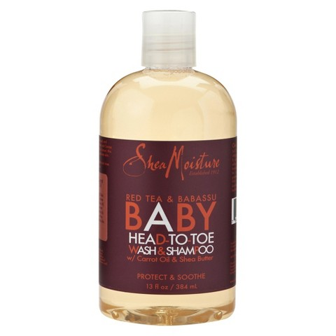 SheaMoisture Red Tea & Babassu Baby Head-To-Toe Wash & Shampoo - 12 fl oz