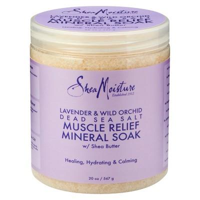 SheaMoisture 20oz Lavender & Wild Orchid Soak