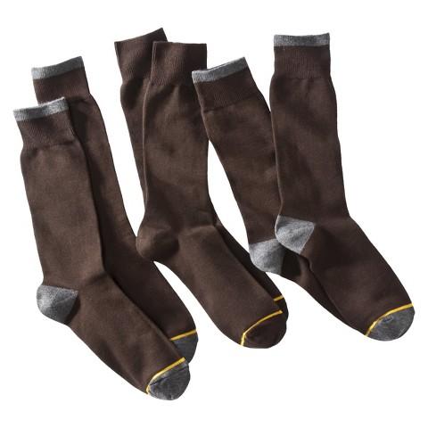 Auro® a GoldToe Brand Men's 3pk Dress Socks - Assorted Colors