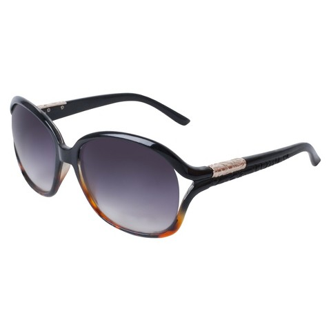 Rounded Sunglasses - Black