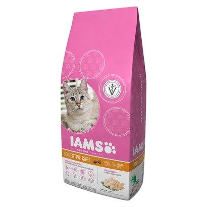 Iams ProActive Health Adult Digestive Care Dry Cat Food 5 LBS