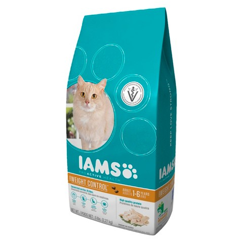 Iams ProActive Health Adult Weight Control Dry Cat Food 5 lbs