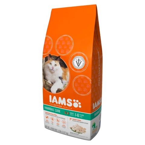 Iams ProActive Health Adult Hairball Care Dry Cat Food 5 lbs