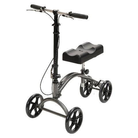 Drive Medical Steerable Knee Walker - Silver (Standard)