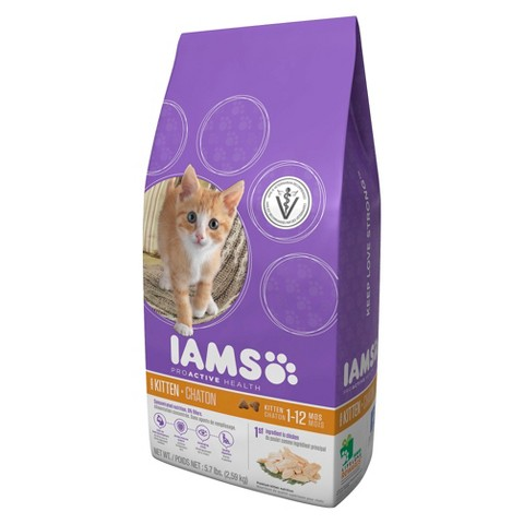 Iams ProActive Health Dry Kitten Food 5.7 lbs
