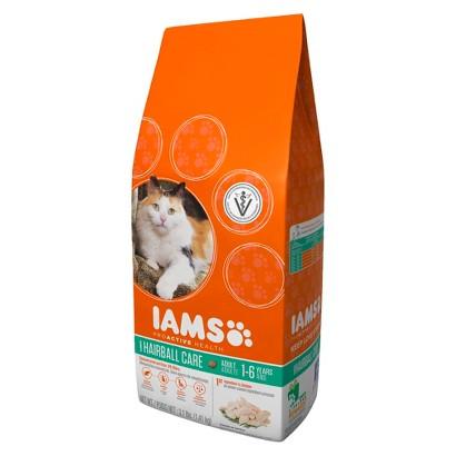Iams ProActive Health Adult Hairball Care Dry Cat Food 3.1 lbs