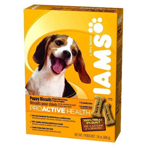 Iams ProActive Health Puppy Biscuits - 24 oz.