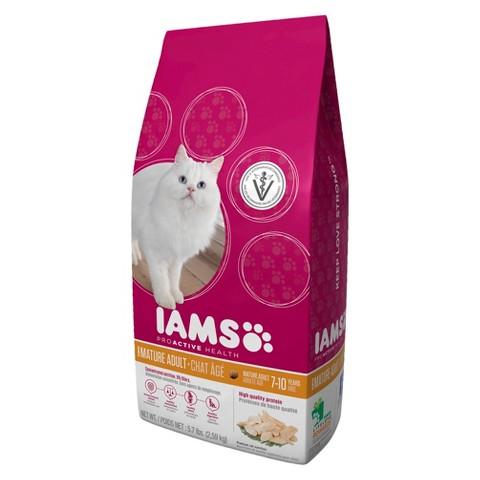 Iams ProActive Health Mature Adult Dry Cat Food 5.7 lbs