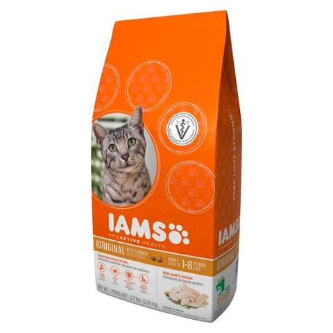 Iams ProActive Health Adult original with Chicken Dry Cat Food 5.7 lbs