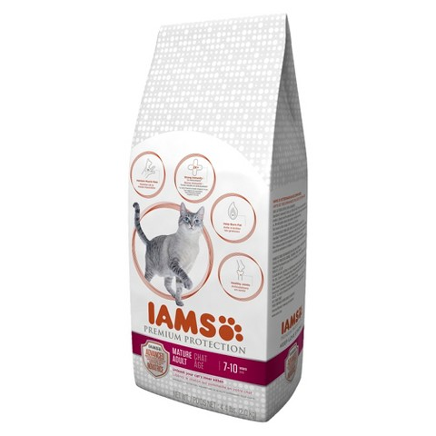 Iams Premium Protection Senior Dry Cat Food 4.4 LBS