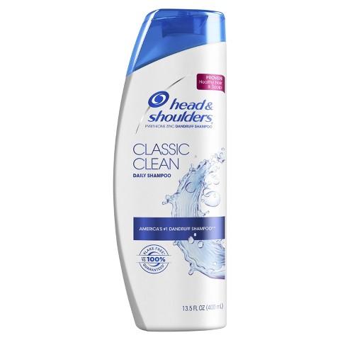 Head & Shoulders Classic Clean Dandruff Shampoo 13.5 Fl Oz