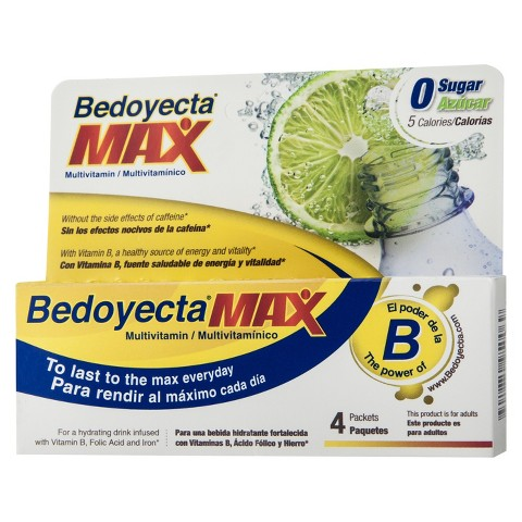 Bedoyeceta Max Multivitamin - 4 Count