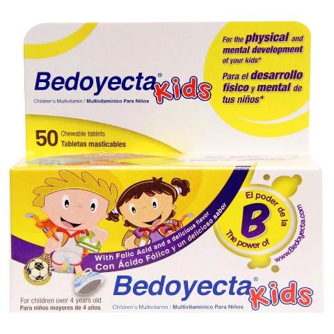 Bedoyecta® Kids Multivitamin Tablets - 50 Count