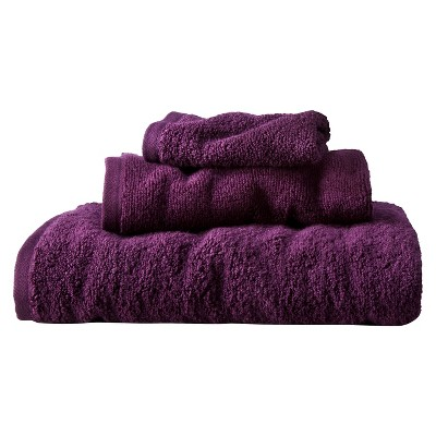 ECOM Room Essentials� 3-pc. Towel Set - Atlantic Burgundy