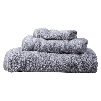 Room Essentials™ Fast Dry 3-pc. Towel Set - Gray Mist