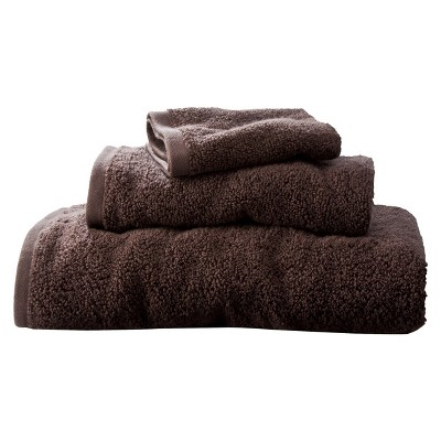 Room Essentials™ Fast Dry 3-pc. Towel Set - Forest Brown