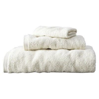 Room Essentials™ Fast Dry 3-pc. Towel Set - Ivory