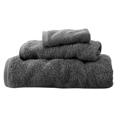 Fast Dry 3-Pc. Towel Set Flat Gray - Room Essentials™
