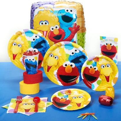 Sesame Street Party Kit for 16