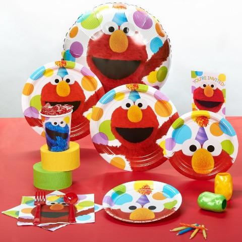 Sesame Street Elmo Birthday Party Pack