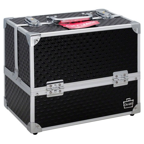 Caboodles  11in Black Diamond Case