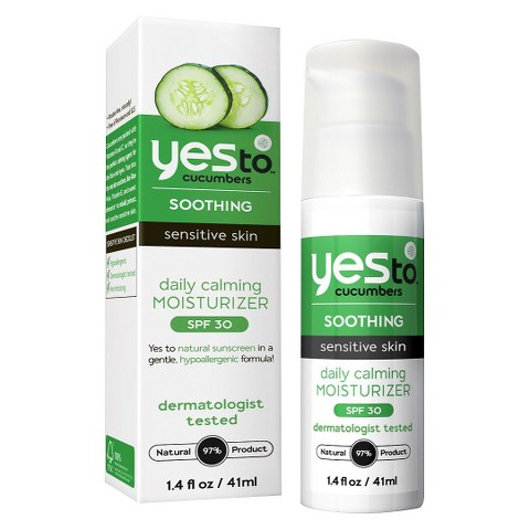 Yes To Cucumbers Daily Calming Moisturizer SPF 30 - 1.4 oz