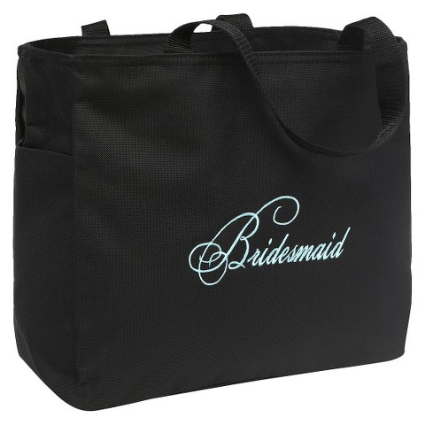 Wedding Gift Bags Target : Bridesmaid Diamond Wedding Gift Tote BagBlack : Target