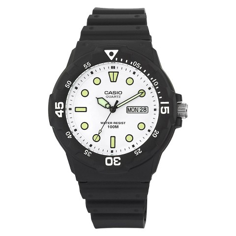 Casio Men's Dive Style Watch - Black - MRW200H-7EVCF