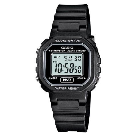 Casio Women's Casual Digital Watch - Black - LA20WH-1ACF