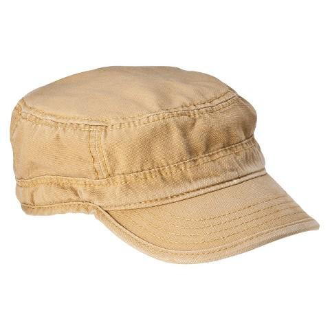 Men's Canvas Cadet Hat Tan