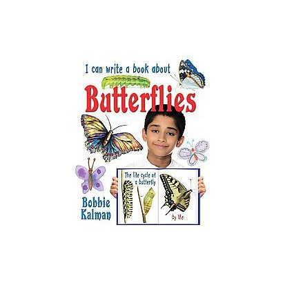 I Can Write a Book About Butterflies (Paperback)